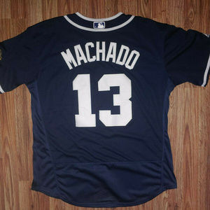 Manny Machado San Diego Padres Blue Jersey XL New